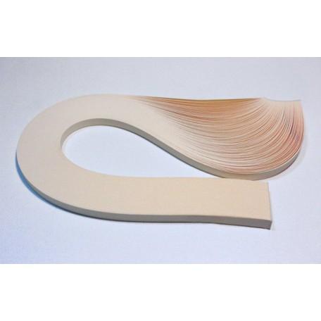 Бумага для квиллинга 01-11, кремовый, пастельный, ширина 7 мм арт.3304107300