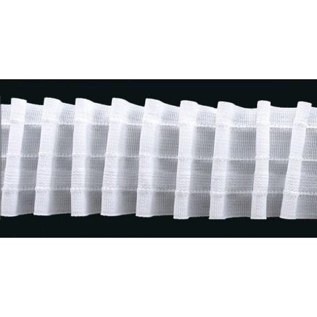 Лента шторная арт.606н шир.60мм равномерная складка (2 шнура)
