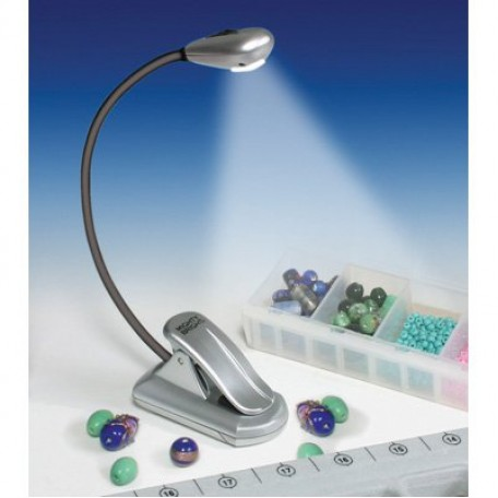 GC.60432 MIGHTY BRIGHT Мини-лампа для рукоделия цв.серебристый