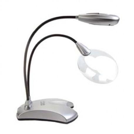 GC.63422 MIGHTY BRIGHT Лампа с 6-ю светодиодами и лупой