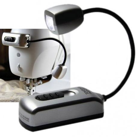GC.64602 MIGHTY BRIGHT Мини лампа с одним светодиодом (для швейных машин) цв.серебристый 22х2х3 см
