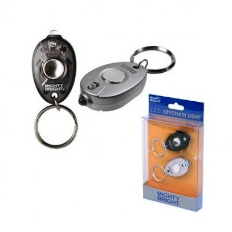 GC.80712 MIGHTY BRIGHT Мини-лампа - брелок для ключей с одним светодиодом уп.2 шт
