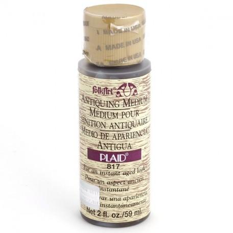 PLD-00817 Средство-медиум Антик FolkArt дерев.коричневый, 59 мл