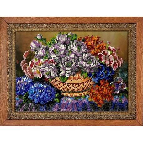 Набор для вышивания бисером 'МЕГАРУК' арт.008 Аромат 18,5х26 см
