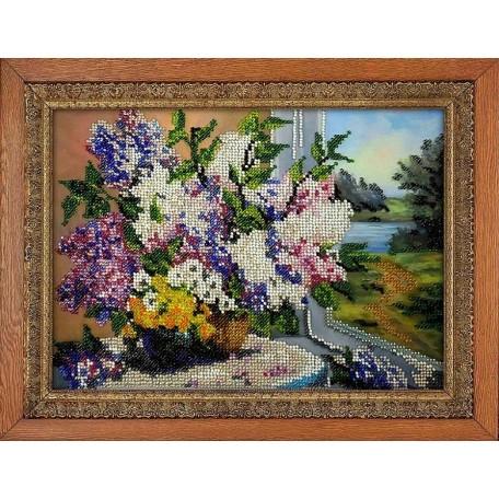 Набор для вышивания бисером 'МЕГАРУК' арт.012 Летний день 18,5х26 см