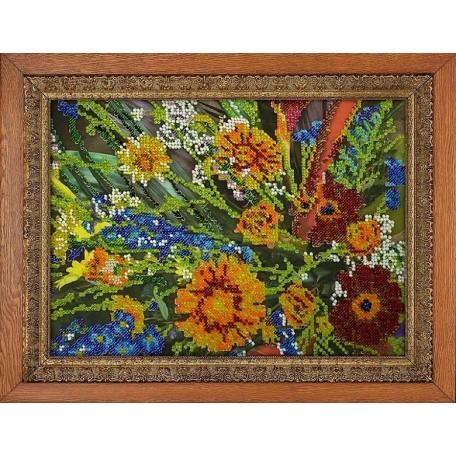 Набор для вышивания бисером 'МЕГАРУК' арт.014 Межсезонье 18,5х26 см