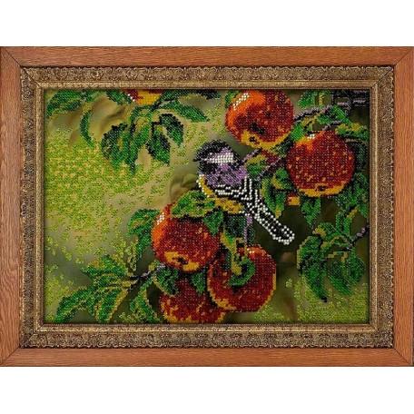 Набор для вышивания бисером 'МЕГАРУК' арт.018 Урожай 18,5х26 см