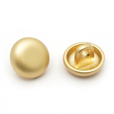 Пуговица арт.JB.75013 18L цв.матовое золото уп.20 шт