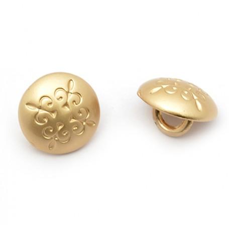 Пуговица арт.JB.75081 16L цв.матовое золото уп.20 шт