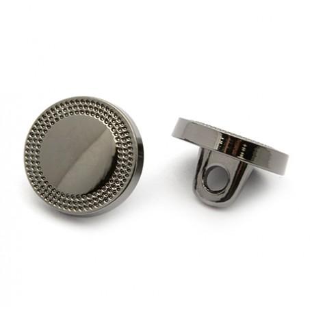 Пуговица арт.JB.76239 16L цв.черный никель уп.20 шт
