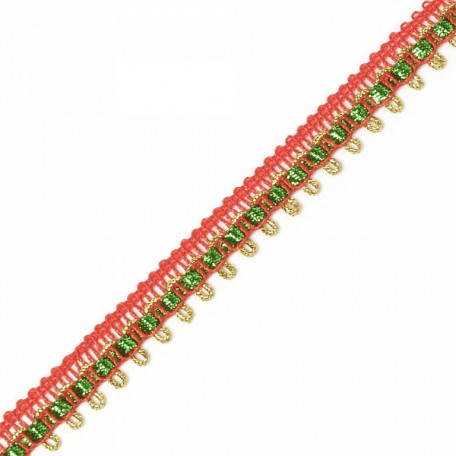 Кружево вязаное арт.13-2474 шир.1,5 см уп.18,28м