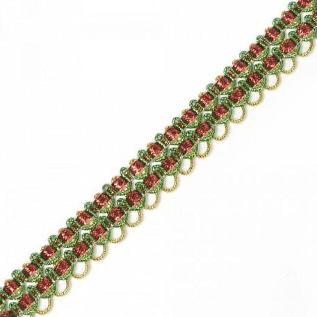Кружево вязаное арт.13-4683 шир.2 см уп.18,28м
