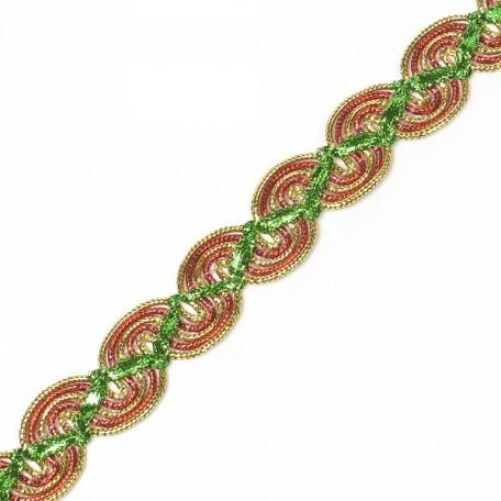 Кружево вязаное арт.A8-1724 шир.2 см уп.18,28м