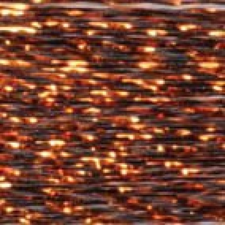 Нитки металлизированные 150D/1 арт. 1222A 5000Y цв. FMH-2008 коричневый