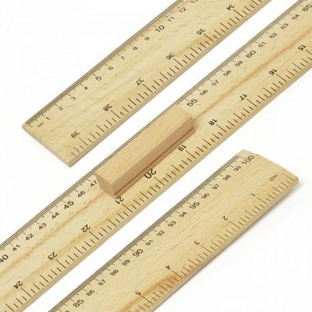 Метр деревянный, с ручкой А