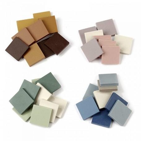 Керамическая мозаика в ассорт., Creativ арт.99472 20*20 мм, 750 гр