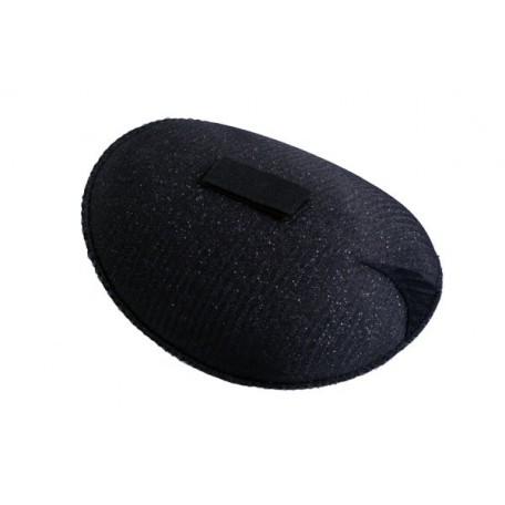Подплечики на липучке реглан Рк15 цв.черный упак. 100 пар
