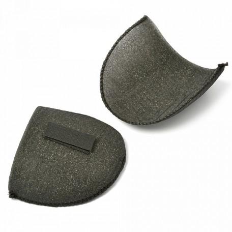 Подплечики на липучке Вк-10 цв.черный упак.50 пар