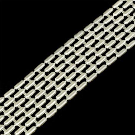 Жемчуг на нитях арт.БШ.VX07 цв кремовый упак 10м А