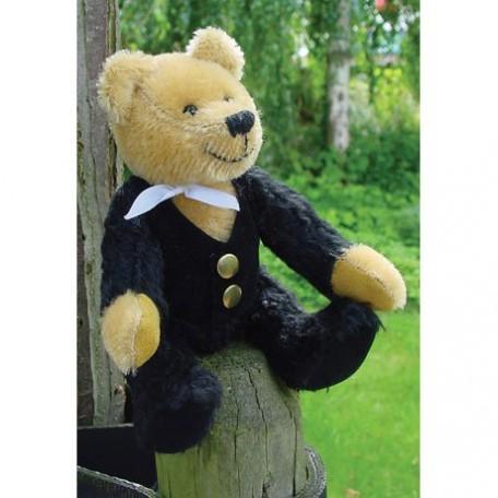 WIT.A52700 Набор для изготовления вальдорфской игрушки DE WITTE ENGEL 'Господин Медведь' h=17см
