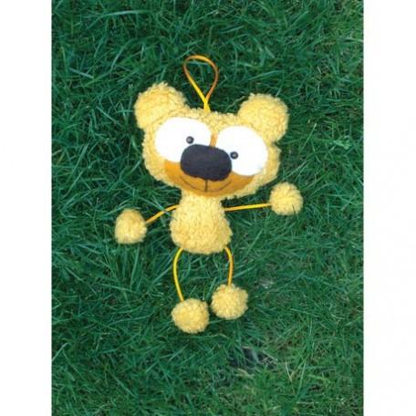 WIT.A59100 Набор для изготовления вальдорфской игрушки DE WITTE ENGEL 'Мишка' (подвеска) h=20см