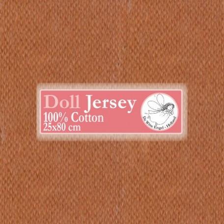 WIT.T10603 Телесный трикотаж для вальдорфских кукол DE WITTE ENGEL 25*80см цв.загар