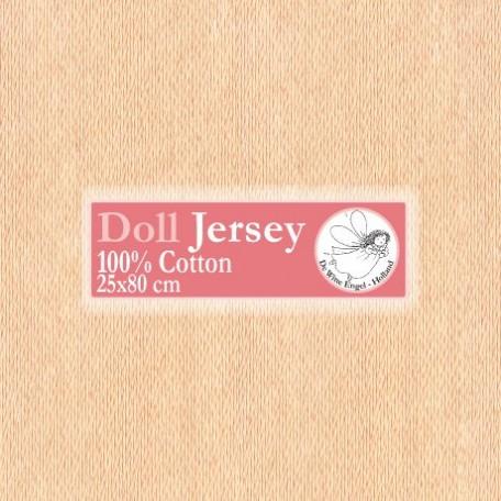 WIT.T11403 Телесный трикотаж для вальдорфских кукол DE WITTE ENGEL 25*80см цв.кожи бежевого