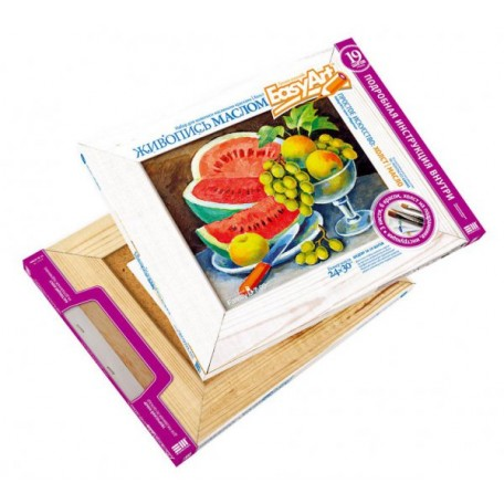 Набор для творчества Easy Art арт.737011 набор для живописи 'Фрукты'