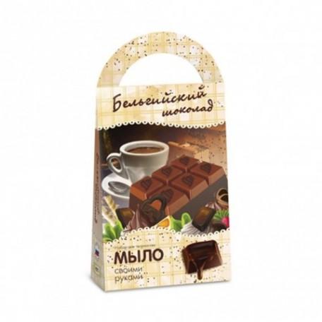 БМ.C0207 Мыло своими руками 'Бельгийский шоколад', серия 'Кондитерская'