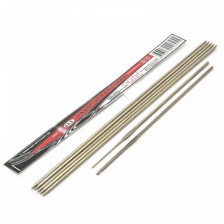 Набор для вязания арт.АРТИ-2,3 спицы 5шт+крючки 2шт