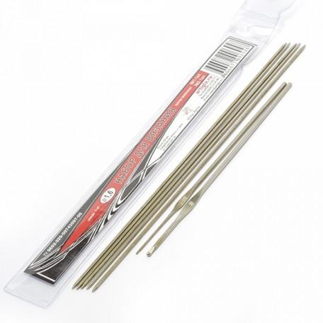 Набор для вязания арт.АРТИ-1,6 спицы 5шт+крючки 2шт