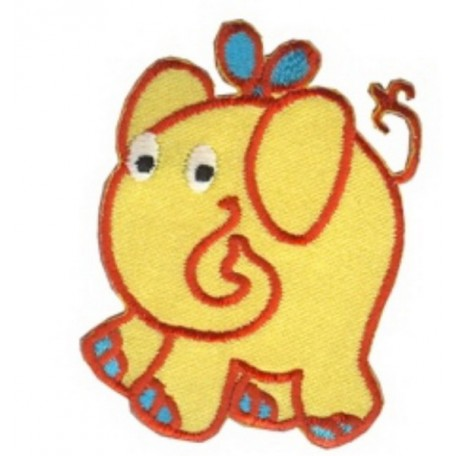 Нашивка арт.НРФ.13491153 Слон желтый