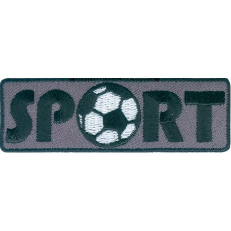 Нашивка арт.НРФ.15571169 Спорт-футбол серый