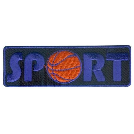 Нашивка арт.НРФ.15611169 Спорт-баскетбол черный