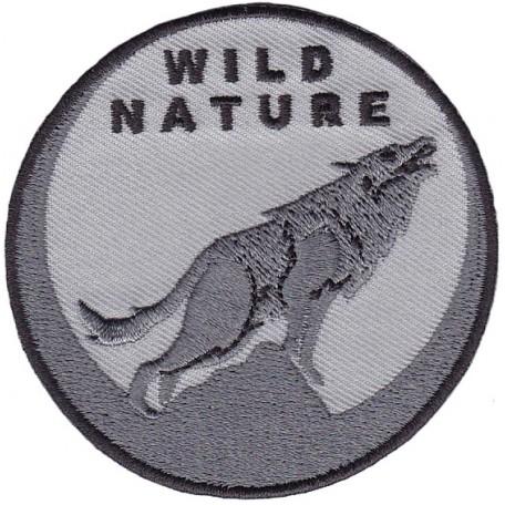 Нашивка арт.НРФ.17071185 Дикая природа - Воющий волк