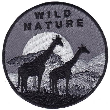 Нашивка арт.НРФ.17081185 Дикая природа - Жирафы