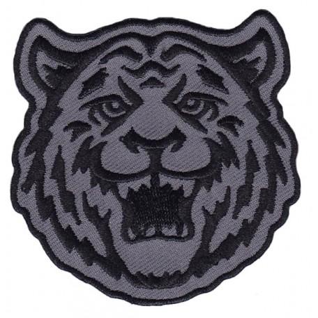 Нашивка арт.НРФ.17111185 Дикий тигр цв. серый