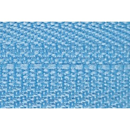 Молния мет. никель №3 1зам. NS-015.НИК. 16 см. цв.319 голубой
