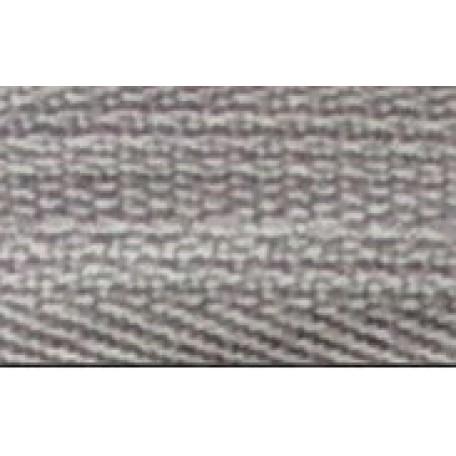Молния мет. никель №3 1зам. NS-015.НИК. 40 см. цв.300 св.серый