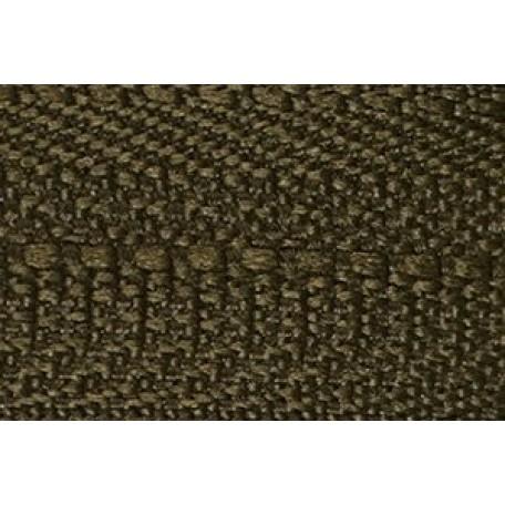 Молния мет. никель №3 1зам. NS-015.НИК. 40 см. цв.316 т.хаки