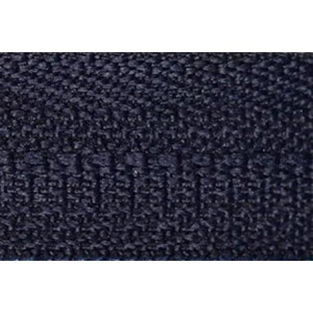 Молния мет. никель №3 1зам. NS-015.НИК. 40 см. цв.318 т.синий