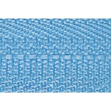 Молния мет. никель №3 1зам. NS-015.НИК. 40 см. цв.319 голубой
