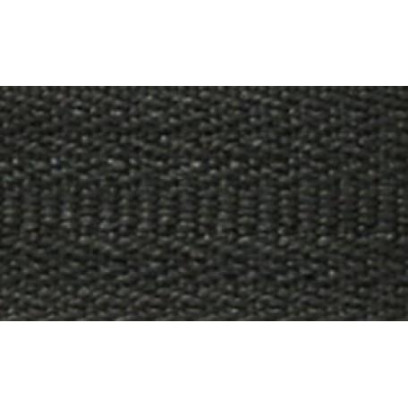 Молния мет. никель №8, 65 см., замок груша цв.322/310 черный А