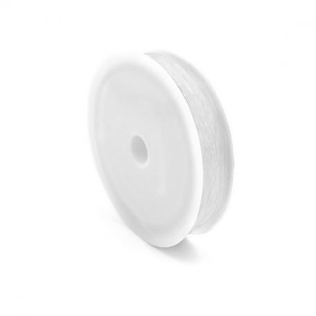 Нить силиконовая арт.ТВ 0215-1012 0,6мм цв.прозрачный рул.30м