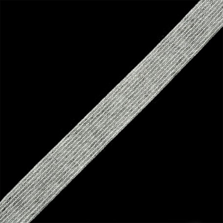 Лента нитепрошивная клеевая 20мм х 50м. цв.белый