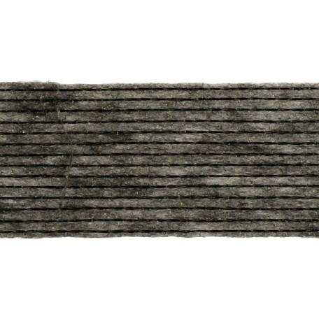 Лента нитепрошивная клеевая 25мм х 50м. цв.графит