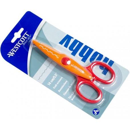 Ножницы Westcott фигурные 'Зубчики' арт.E-42503 00 140мм