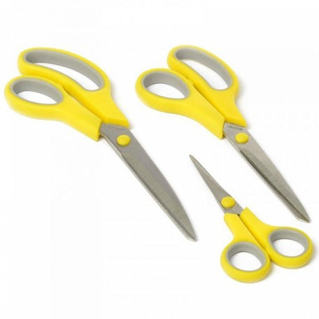KL.920-94 Kleiber Набор ножниц 'Soft-Touch' мягкая ручка. 14/21,5/24,5см уп.3шт