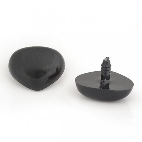 Носик винтовой 35мм цв. черный