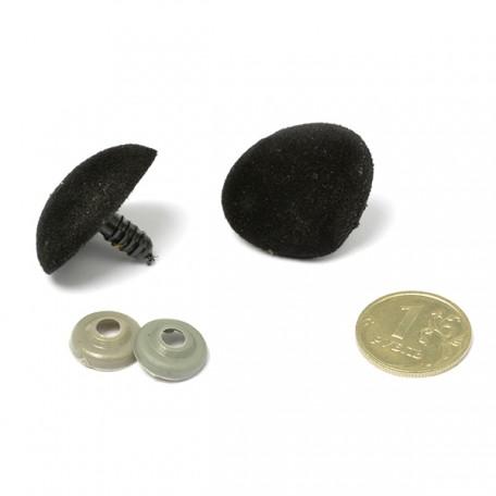 Носик винтовой арт.КЛ.24228 №29 треугольный с креплением, цв. черный
